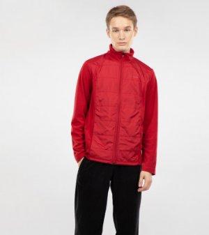 Джемпер флисовый мужской , размер 48 Demix. Цвет: красный