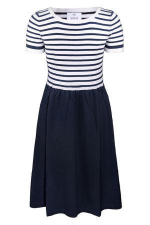 Платье Allude. Цвет: мультицвет