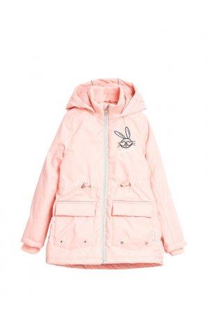 Куртка LEMON. Цвет: розовый