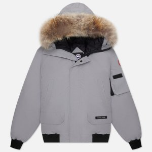 Мужская куртка бомбер Chilliwack Canada Goose. Цвет: серый