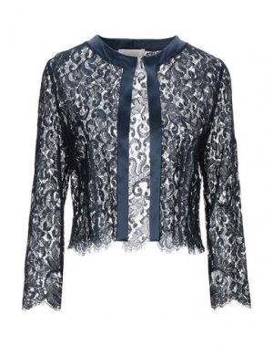 Пиджак BOTONDI COUTURE. Цвет: темно-синий