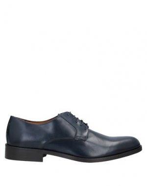 Обувь на шнурках MFW COLLECTION. Цвет: темно-синий