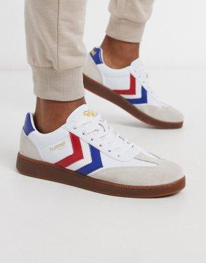 Белые кроссовки из искусственной кожи Hive VM78-Белый Hummel