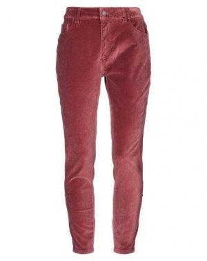 Повседневные брюки DL1961. Цвет: ржаво-коричневый