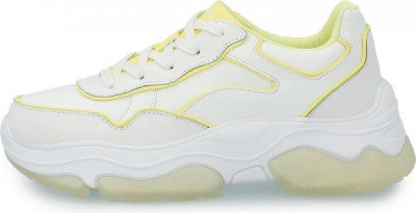 Кроссовки женские AmpD (Blk Jak), размер 38.5 Skechers. Цвет: белый