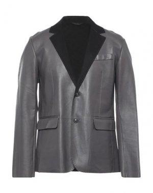 Пиджак TRUSSARDI. Цвет: свинцово-серый