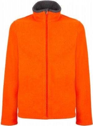 Джемпер флисовый для мальчиков , размер 116 Outventure. Цвет: оранжевый