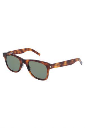 Солнцезащитные очки Saint Laurent Paris. Цвет: коричневый