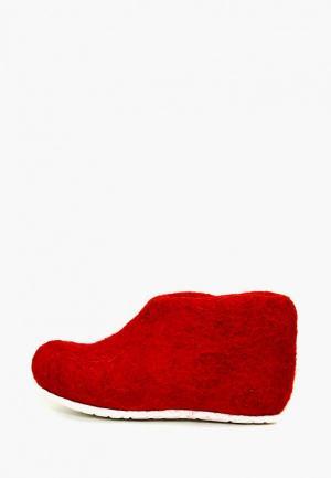 Тапочки Snegi. Цвет: красный