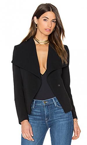 Пиджак с большим воротником manda Greylin. Цвет: черный