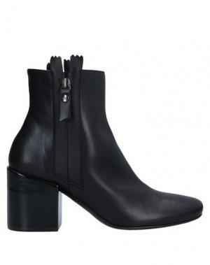 Полусапоги и высокие ботинки AGL ATTILIO GIUSTI LEOMBRUNI. Цвет: черный