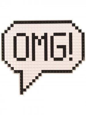 Наклейка OMG Anya Hindmarch. Цвет: белый