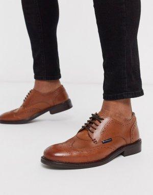 Светло-коричневые туфли на шнуровке -Светло-коричневый Ben Sherman