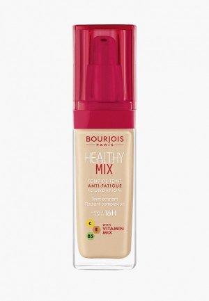 Тональное средство Bourjois Healthy Mix, 52.5 Rose Beige, 30 мл. Цвет: бежевый