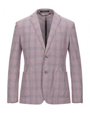 Пиджак MESSAGERIE. Цвет: красно-коричневый