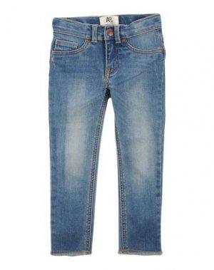 Джинсовые брюки AMERICAN OUTFITTERS. Цвет: синий