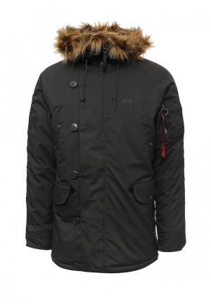 Куртка утепленная Alpha Industries AL507EMUHL18. Цвет: серый