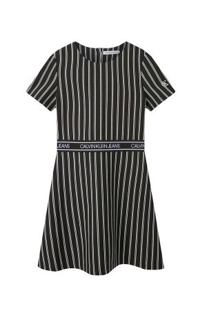 Платье Calvin Klein Jeans. Цвет: чёрный