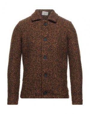 Пальто BL.11 BLOCK ELEVEN. Цвет: коричневый