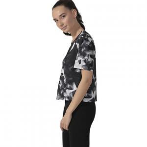 Рубашка WOR TRAIN Reebok. Цвет: black/black