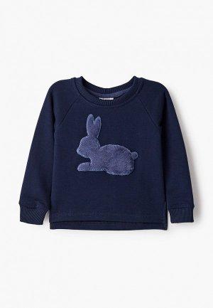 Свитшот Lacitta Rabbit. Цвет: синий