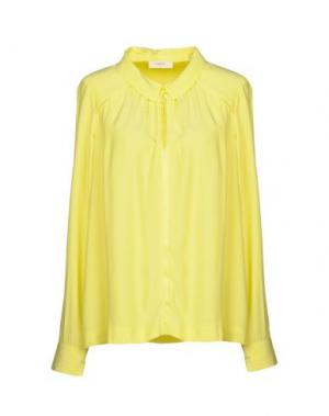 Pубашка BA&SH. Цвет: желтый