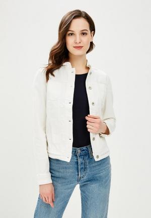 Куртка джинсовая Betty Barclay. Цвет: белый