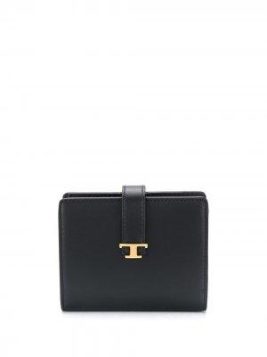 Tods складной кошелек Tod's. Цвет: черный