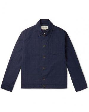 Куртка OLIVER SPENCER. Цвет: темно-синий