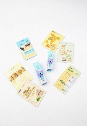 Набор для ухода за лицом Shary и кожей вокруг глаз губ №6, SNAIL BOX Обновление восстановление кожи с муцином улитки. Цвет: прозрачный