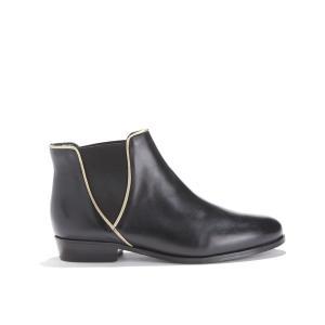 Ботинки кожаные LA LONDONIENNE BOBBIES. Цвет: черный