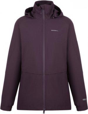 Ветровка женская , размер 46 Merrell. Цвет: фиолетовый