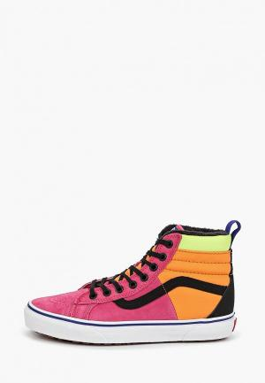 Кеды Vans UA SK8-HI 46 MTE DX (MTE) PINK Y. Цвет: разноцветный