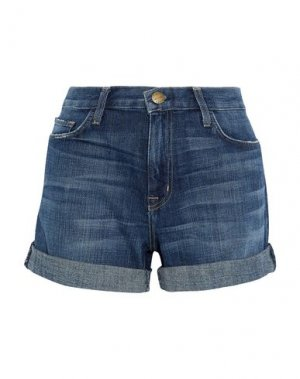 Джинсовые шорты CURRENT/ELLIOTT. Цвет: синий
