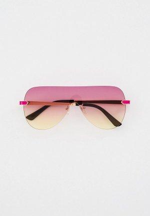 Очки солнцезащитные Bocciolo. Цвет: розовый