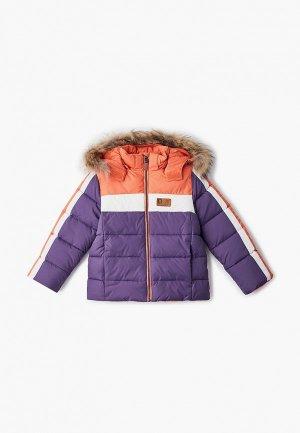 Куртка утепленная АксАрт. Цвет: фиолетовый
