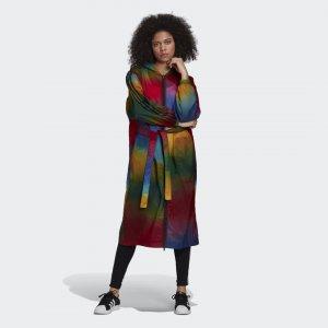 Пальто Originals adidas. Цвет: разноцветный