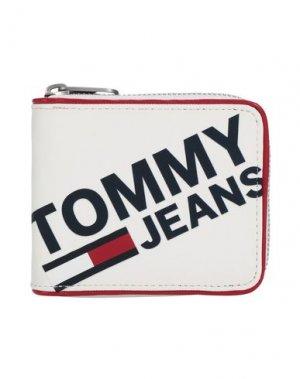 Бумажник TOMMY JEANS. Цвет: белый