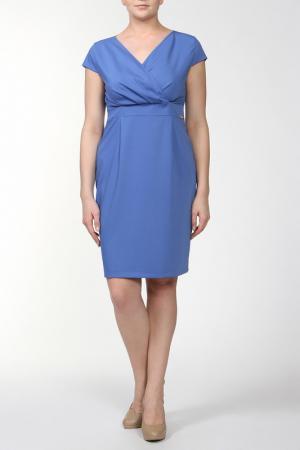 Платье Lady Morgana. Цвет: голубой