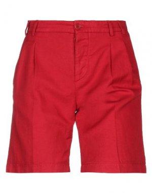 Бермуды ASPESI. Цвет: красный