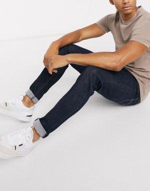 Темные джинсы скинни Levis-Синий Levi's