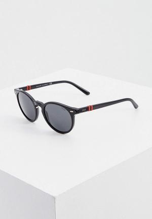 Очки солнцезащитные Polo Ralph Lauren PH4151 500187. Цвет: черный