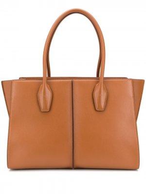 Tods большая сумка-шопер Tod's. Цвет: коричневый