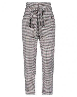 Повседневные брюки FLY GIRL. Цвет: слоновая кость