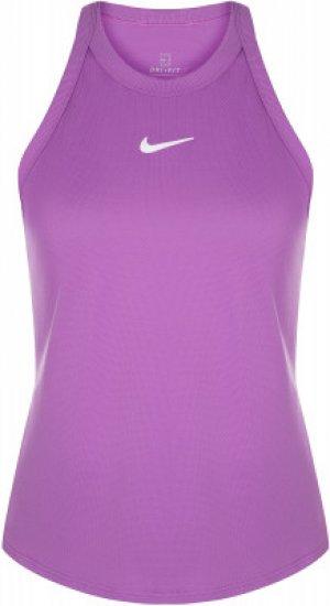 Майка женская Court Dri-FIT, размер 40-42 Nike. Цвет: фиолетовый