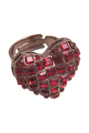 Кольцо G. Glow. Цвет: красный