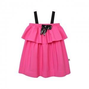 Хлопковое платье N21. Цвет: розовый