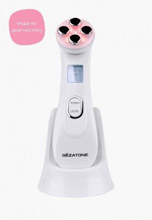 Массажер для лица Gezatone M9910. Цвет: белый