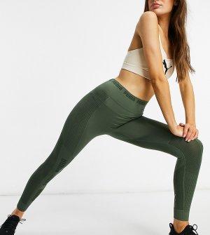 Бесшовные зеленые леггинсы PUMA Training – эксклюзивно для ASOS-Зеленый цвет