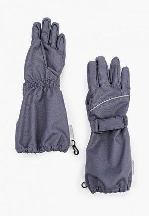 Перчатки Lassie Azu. Цвет: серый